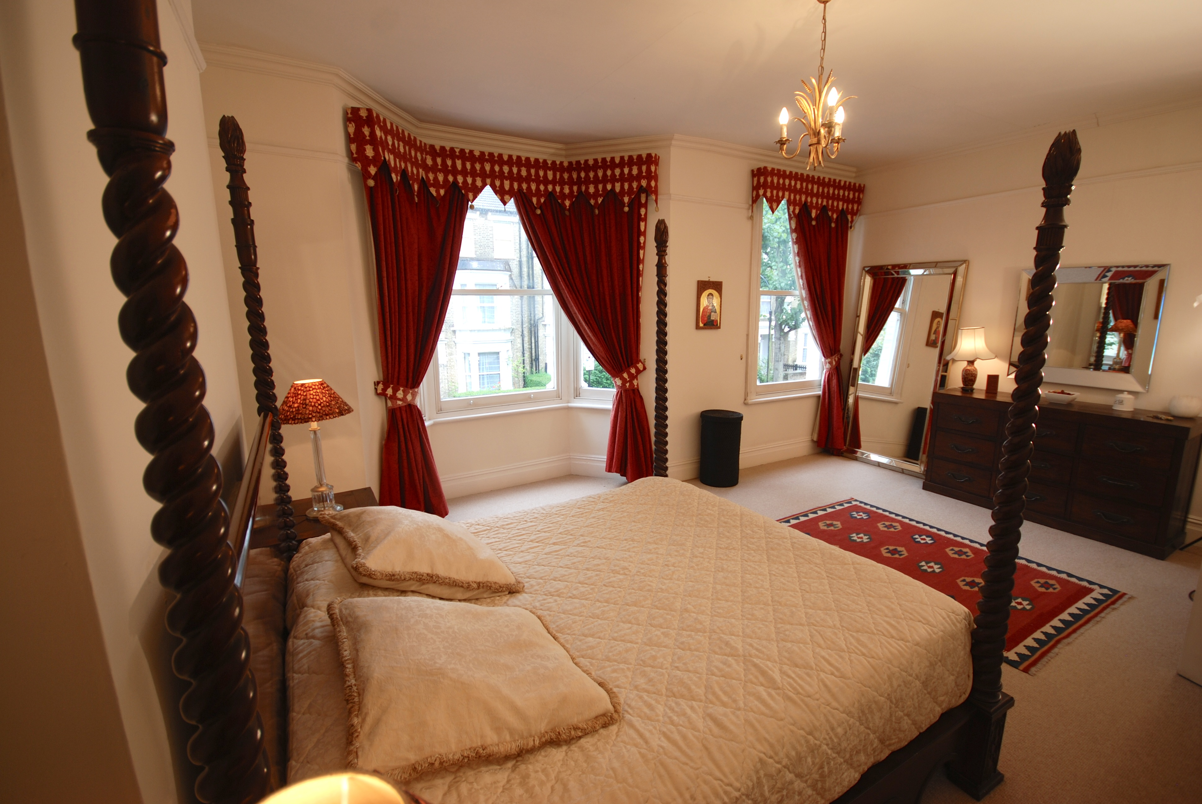 Bedroom Elizabeth Lytton Home Beauclerc Road